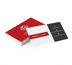 Vizitinės kortelės pavyzdys