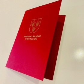 aplankas, a4 formato, iš faktūrinio ar perdirbto popieriaus