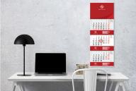 kalendoriai sparcios svetainei Sieninis 3-ju daliu su intarpais