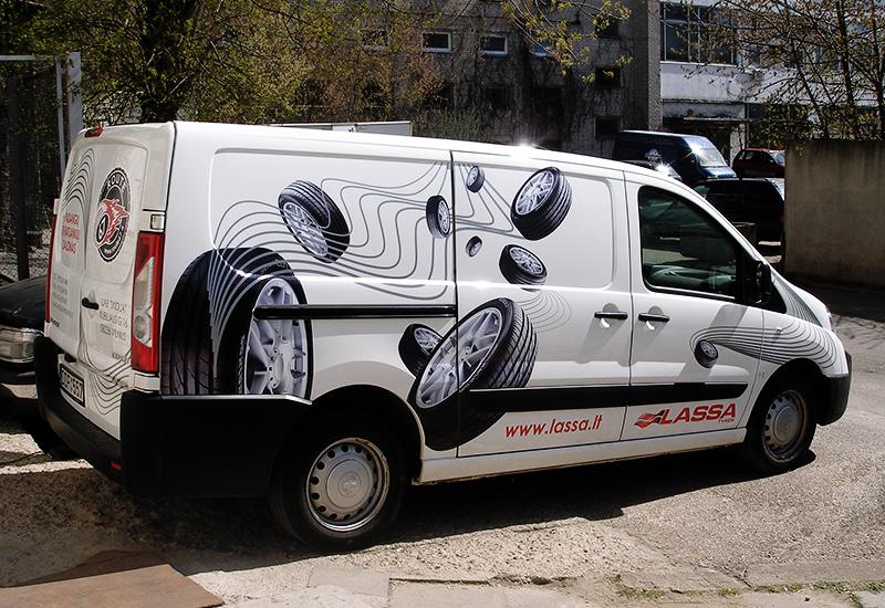 Reklama ant transporto 2